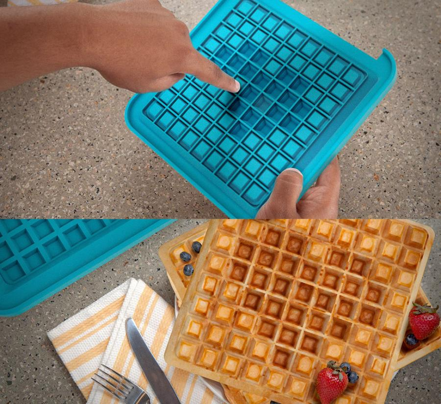 Buy A Food Truck >> Pixel Waffle Maker Lets You Choose Your Waffle Design