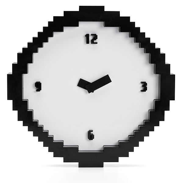 Pixelated Wall Clock 2