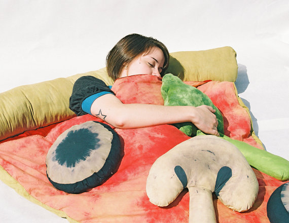 Pizza Bed Sleeping Bag 3