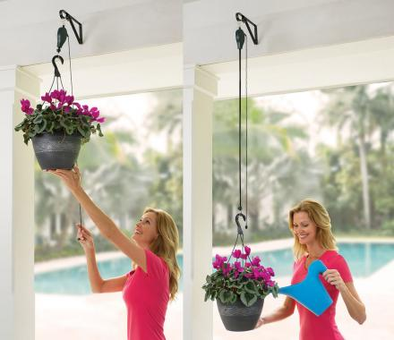 Plant Caddie: Plant Pulley System (3 Pack)
