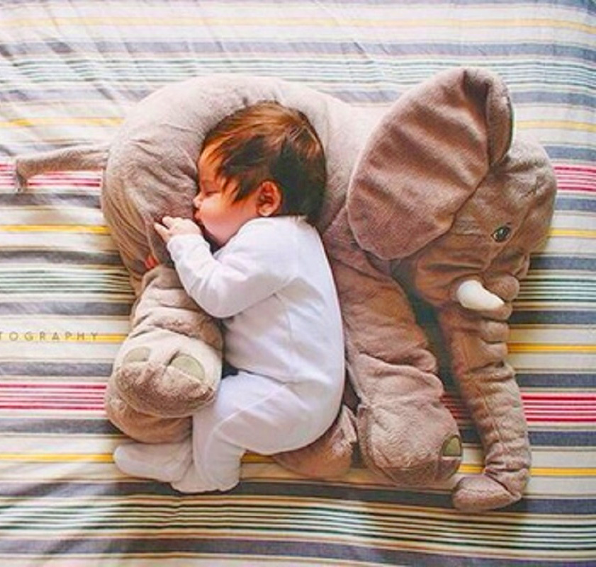 Snuggle With You: Plush Elephant For Your Baby To Snuggle