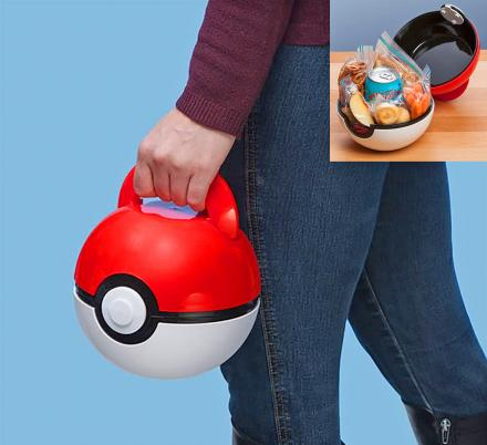 This Pokeball Lunch Box Is Perfect For Little Pokemon Hunters In Training