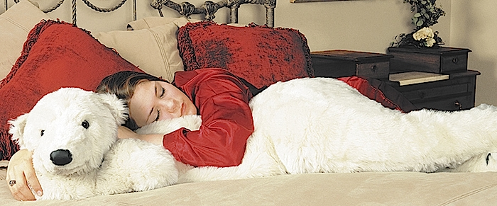 Polar Bear Body Pillow