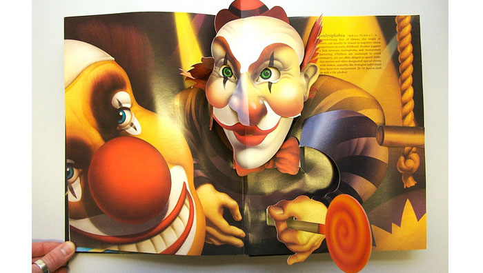 Pop-up Book of Phobias - Clowns