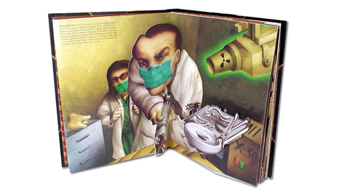 Pop-up Book of Phobias - Needles