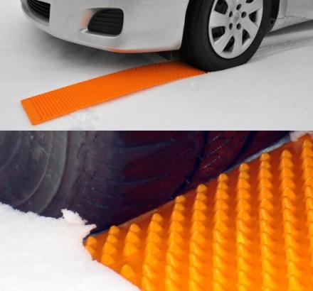 Portable Tow Truck: An Emergency Tire Traction Strip