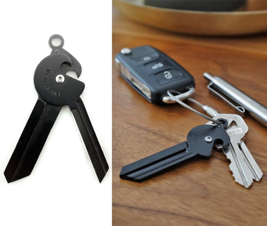porter key knife and bottle opener key chain. Black Bedroom Furniture Sets. Home Design Ideas