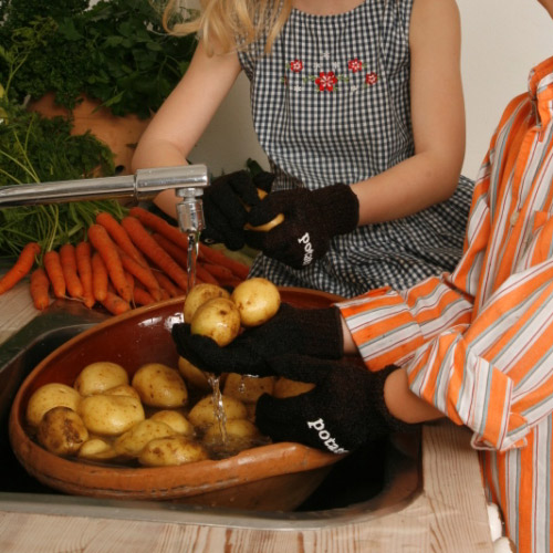 Potato Skinning Gloves