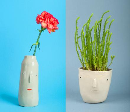 PotHeads - Head Shaped Planter Pots