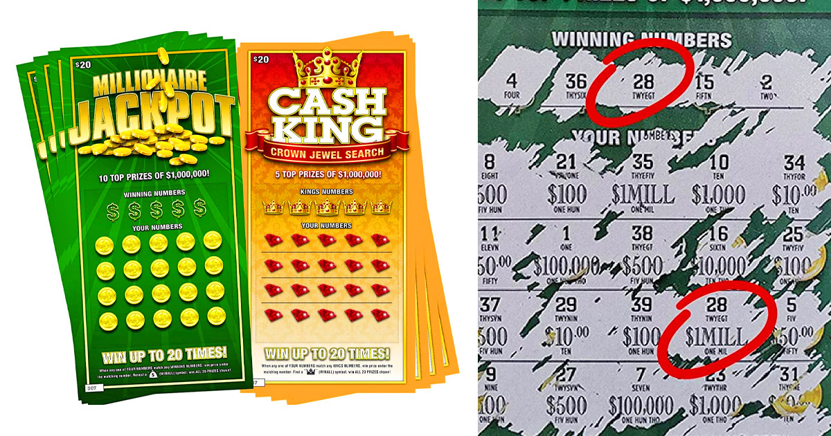 There Are Now Prank Scratch-Off Lottery Tickets That Always Show You Won The Jackpot