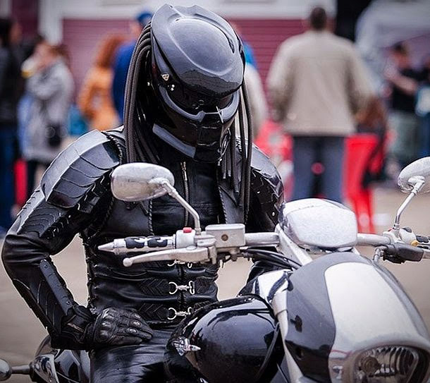 Predator Motorcycle Helmet