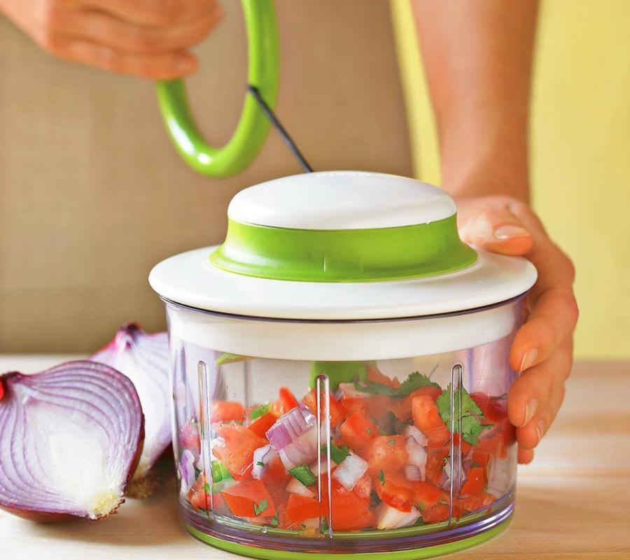Pull String Vegetable Dicer