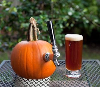 This Pumpkin Keg Tap Lets You Turn Any Pumpkin Into a Drink Dispenser