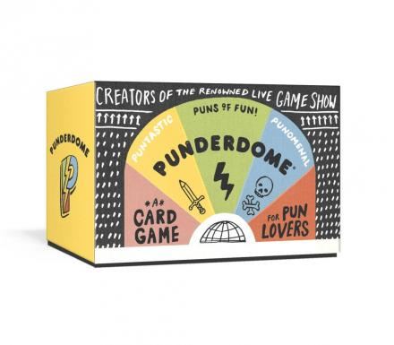 Punderdome: A Card Game For Pun Lovers (Dad Joke Party Game)
