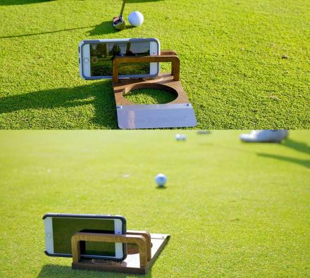 Puttskee Putt Cam Lets You Record Your Golf Putts