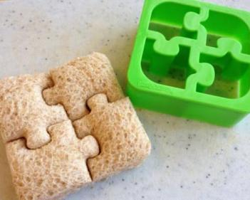 Puzzle Shaped Sandwich Cutter