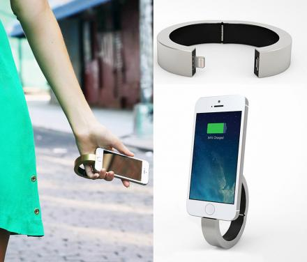 QBracelet is a Bracelet That Charges Your Phone