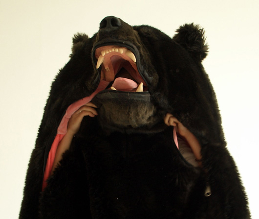 Realistic Bear Sleeping Bag 2