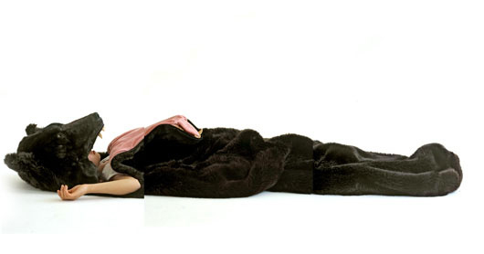 Realistic Bear Sleeping Bag 4