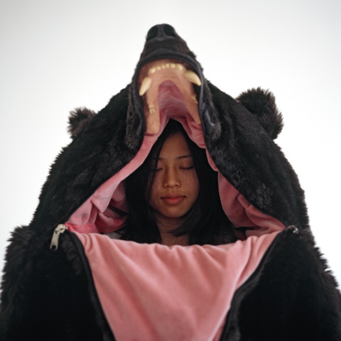 Realistic Bear Sleeping Bag 5