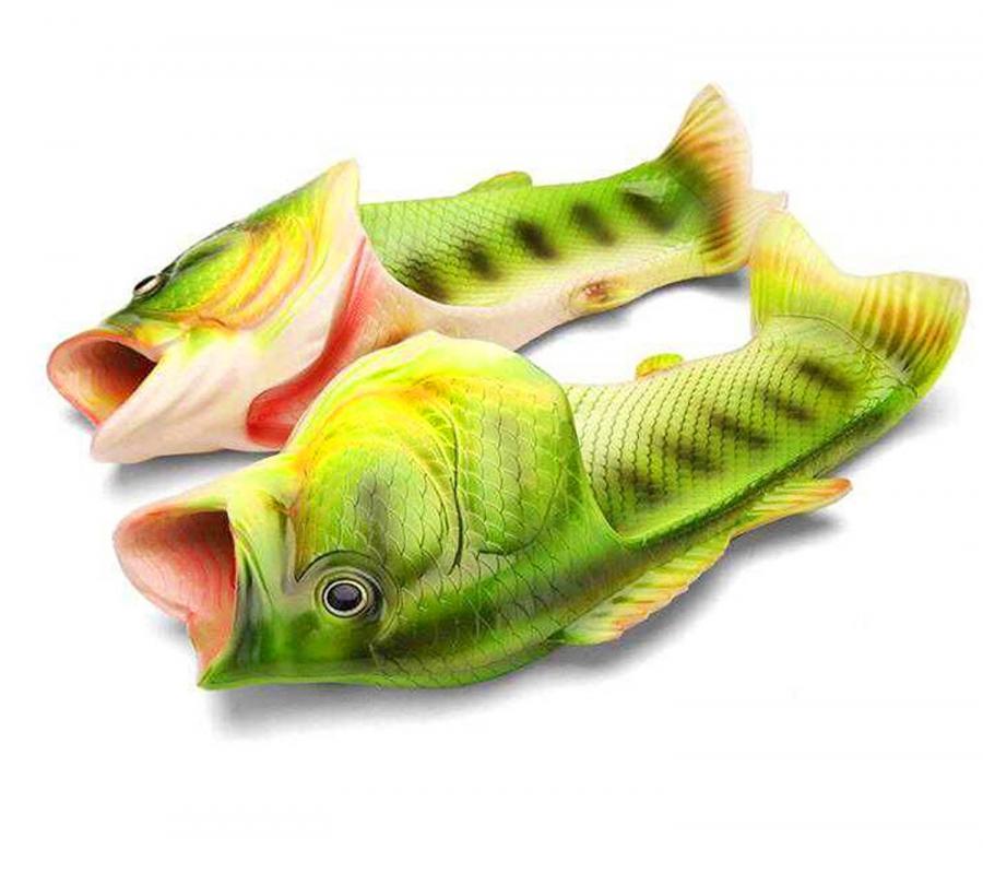 realistic fish sandals