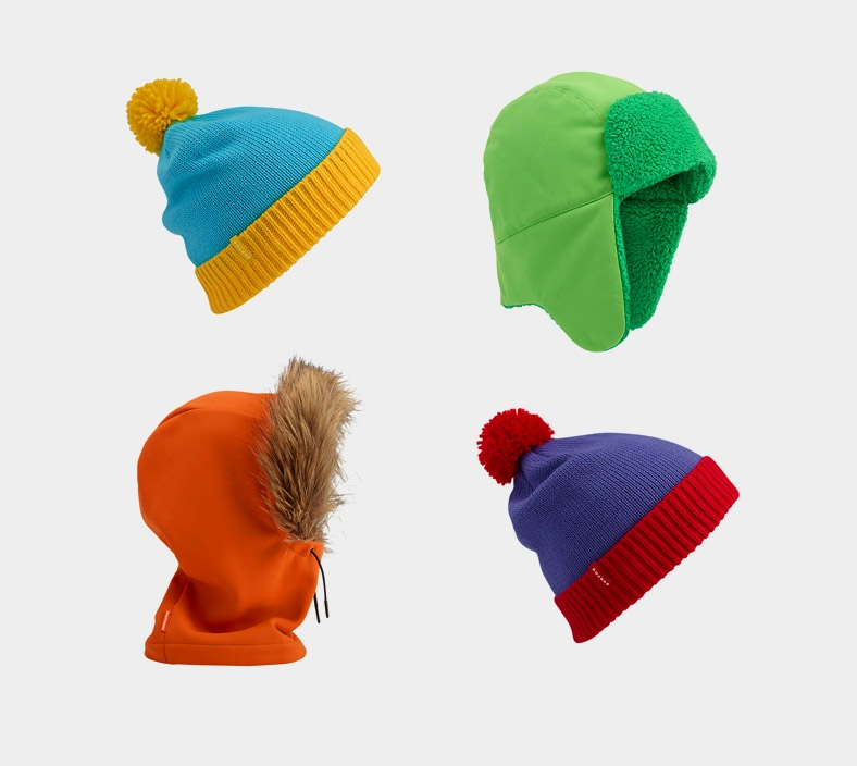 Burton is now offering the winter hats worn by the kids from Comedy  Central s South Park. The famous hats worn by Cartman 10ef22110e0