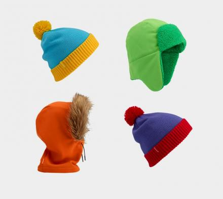 Realistic South Park Winter Hats From Burton