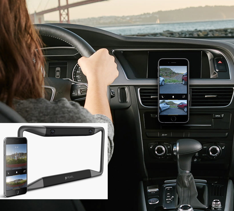 Rear View Backup Camera Uses Your Smartphone As The Display