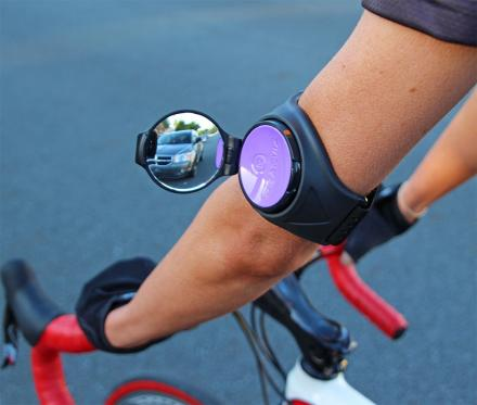 RearViz: An Arm Mounted Bicycle Mirror