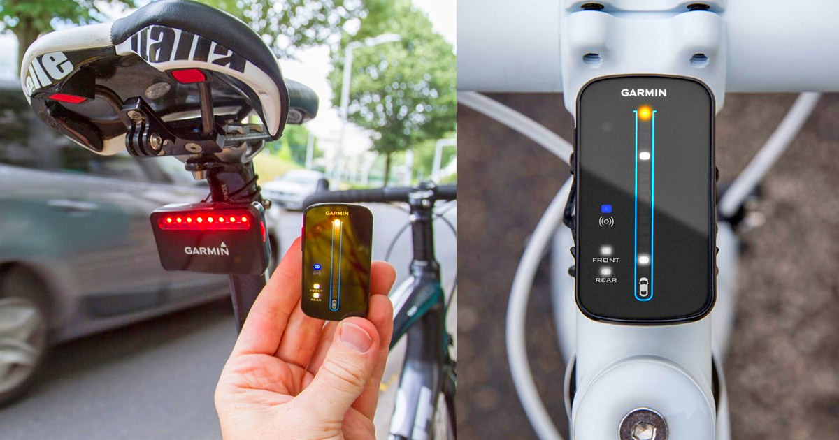 Rearview Bicycle Radar Warns Of Approaching Cars From Behind You