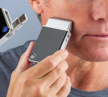 Rechargeable USB Travel Razor