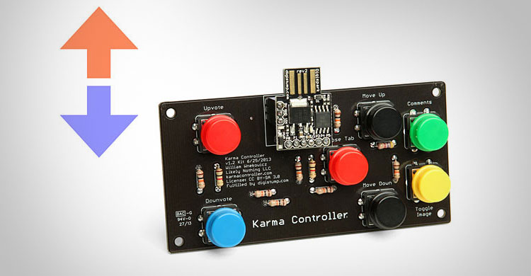 Karma Controller Reddit Interface Device