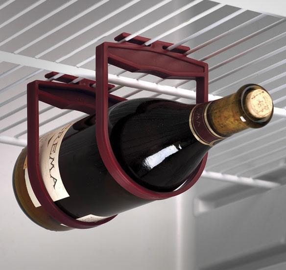 Hanging Refrigerator Wine Holder