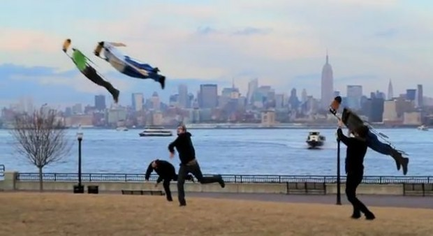 Remote Control Flying Human