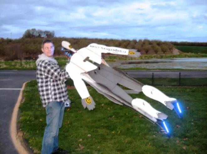 Remote Control Flying Human 3