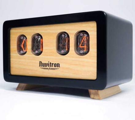 Retro Nixie Tube Clock