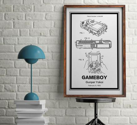 Retro Technology Patent Prints You Can Hang On Your Wall
