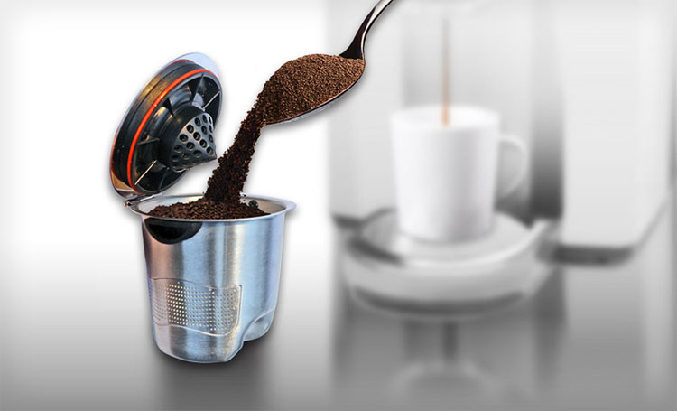 Stainless Steel Ekobrew Elite K-Cup