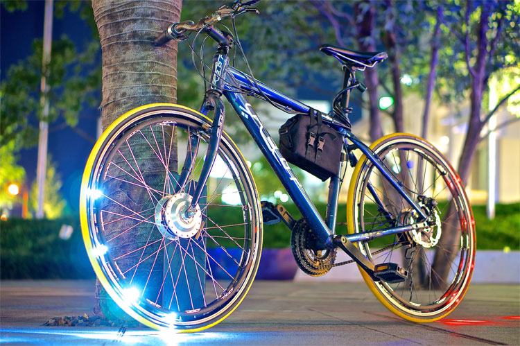 Headlights and Brake lights for your bicycle