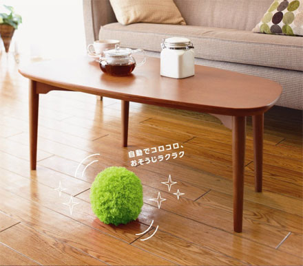 Robotic Floor Dusting Ball Mop