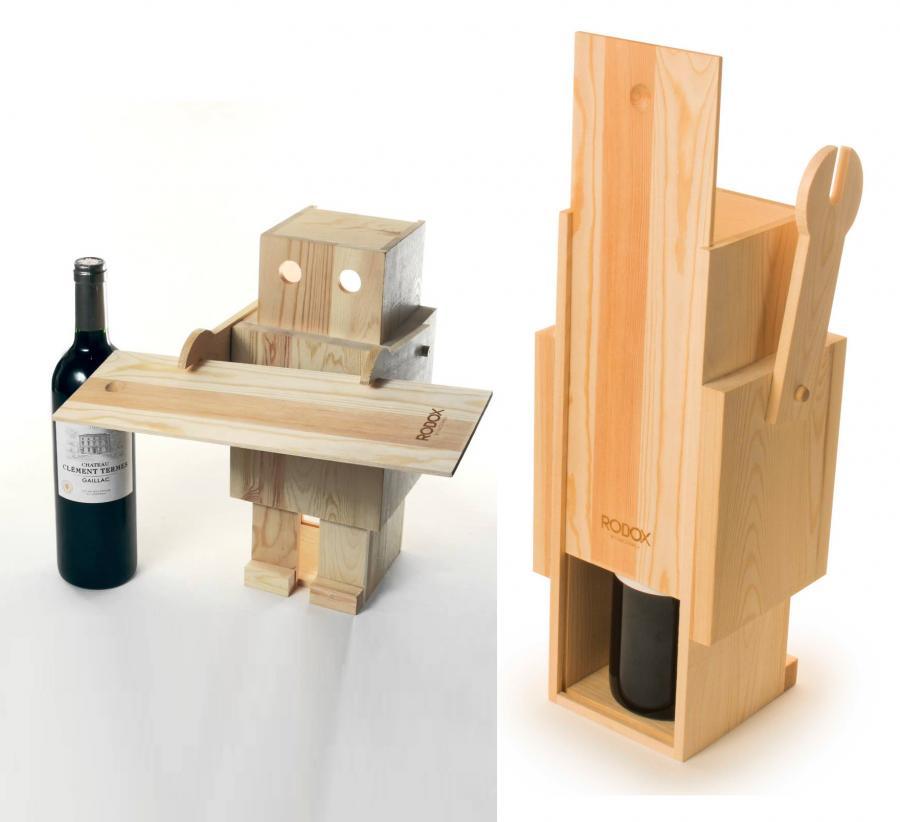 Christmas Wine Holder
