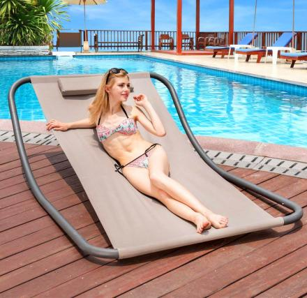 Rocking Hammock Lounger Bed