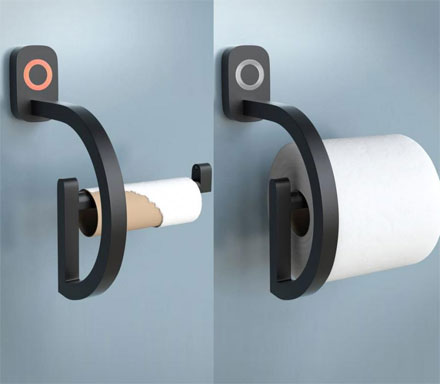 RollScout Notifies You When You're Low On Toilet Paper