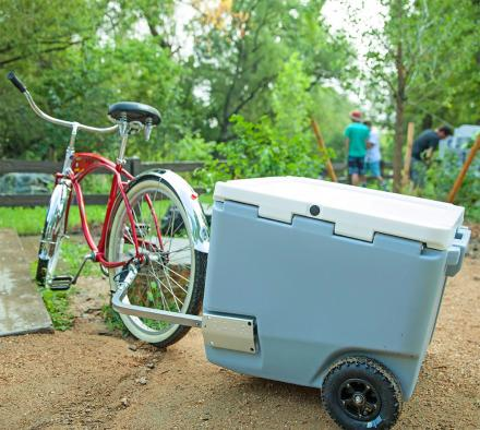 Rovr Roller Cooler: Highly Functional Cooler, Lets You Tow It Behind a Bike