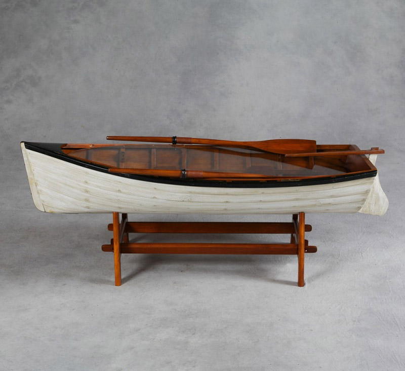 2020 Latest Boat Bookcases |Dinghy Coffee Table