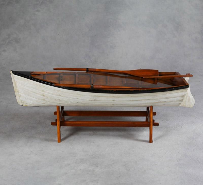 Vintage Row Boat Coffee Table