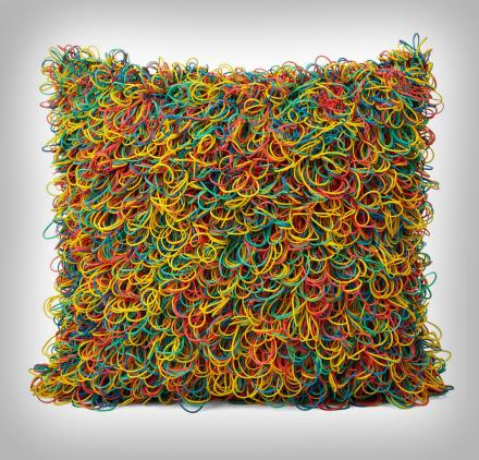 Rubber Band Pillow