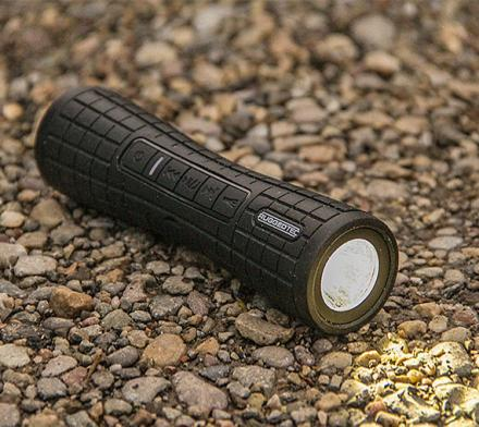 RuggedTec Flashbang: A Durable Speaker That Doubles as a Flashlight