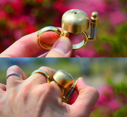 RunBell: A Bell To Clear Pedestrians When Running