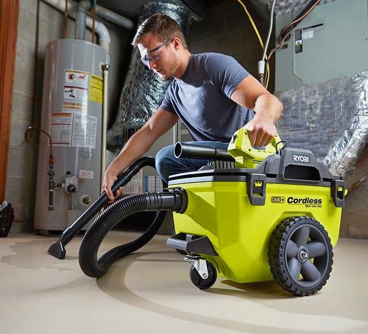 Ryobi Cordless Battery Powered Shop Vacuum